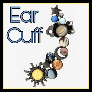 New! Our Planets Ear Cuff!
